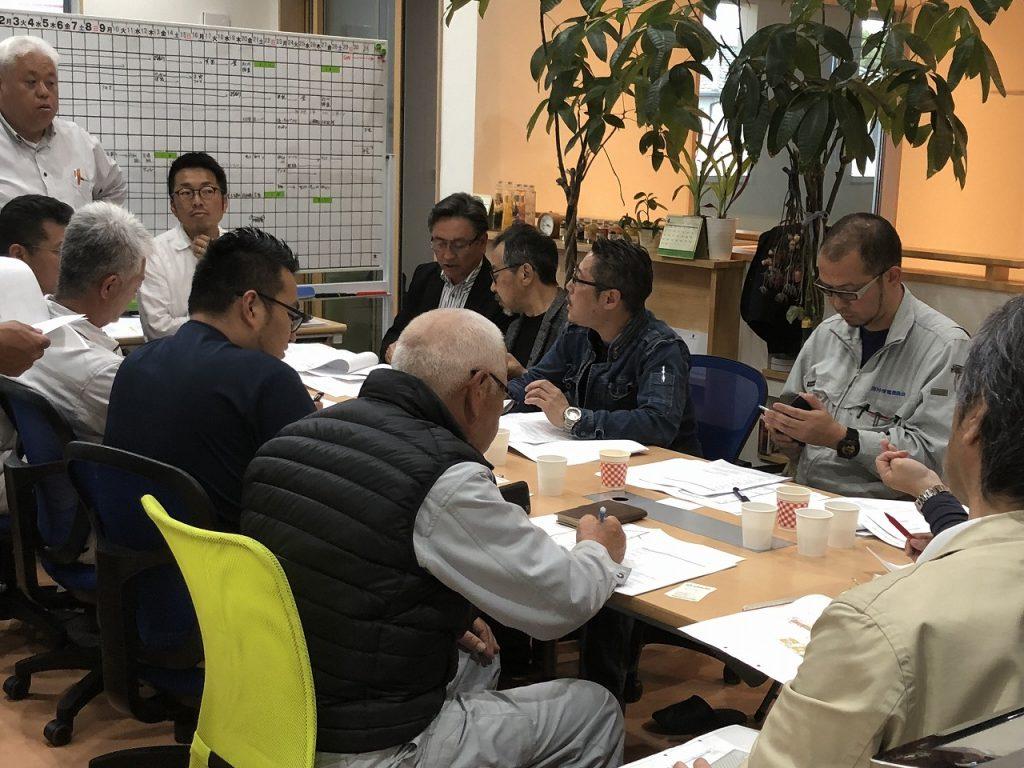 益城町買取型災害公営住宅建設、電気設備工事打合せ。