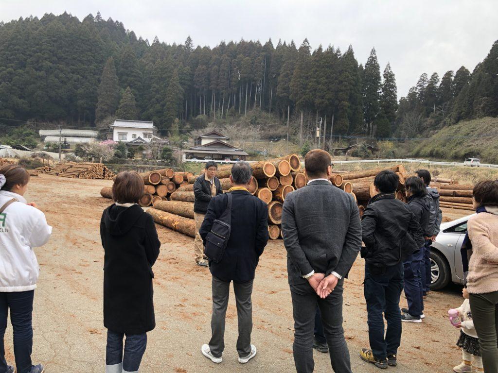 「夢シリーズ」スタート  ~  小国森林組合視察。